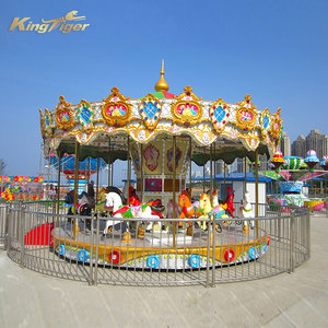 Luxury mechanical carousel horse rides for sale
