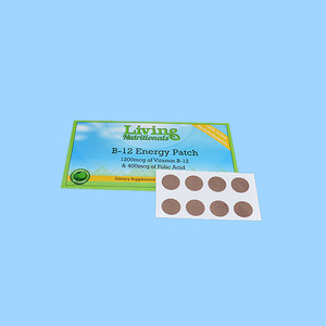 Factory Health Patch Vitamin B 12 Patch Energy Patch OEM