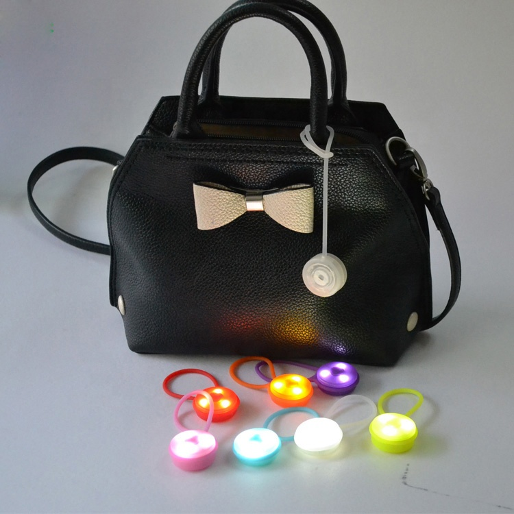 Custom High Brightness Promotional Flashing LED Bag Light, Bag Lamp