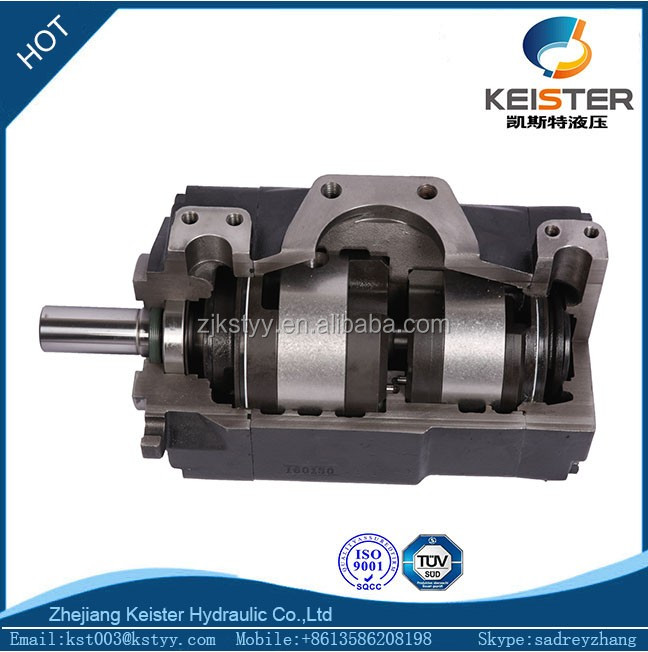 high pressure T6 Denison hydraulic pump cartridge for marine machinery