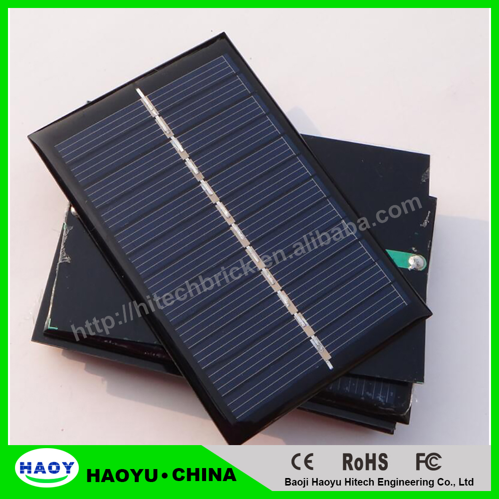 Solar <strong>Panels</strong> 6v 100mA 0.6W Mini Solar Cell 60x90x3MM For Small Power Appliances Drop