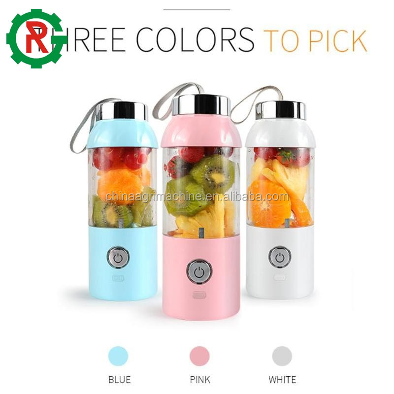 Fruit juice extractor travel blender bottle machine