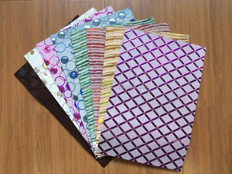 Foam paper designs