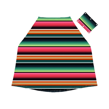 2019 new arrival colorful serape print car seat cover infant  cover nursining for babies