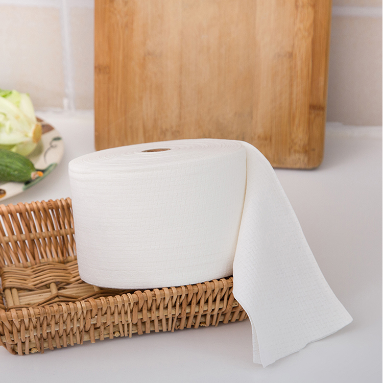 New multi-function face wash disposable microfiber nonwoven cloth roll wipes