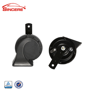 90mm round car horn with loud sound