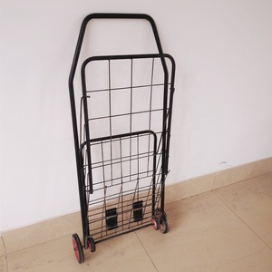 Chinese hot selling factory folding shopping hand trolley cart for sale