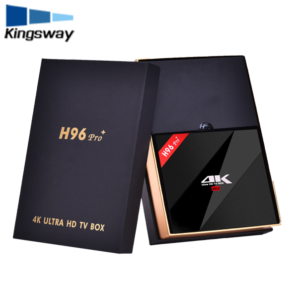H96 Pro plus 3GB RAM + 32GB ROM Amlogic S912 Android 6.0 kodi 17.1 preinstalled 4k ott tv box