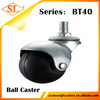"3/8"" 1/2"" Rubber Furniture Chair Ball Caster"