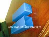 plastic square packaging tubes