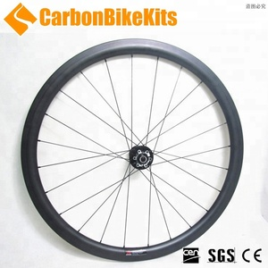 China cheap 700c road disc brake carbon wheels 38mm clincher 20-24 holes