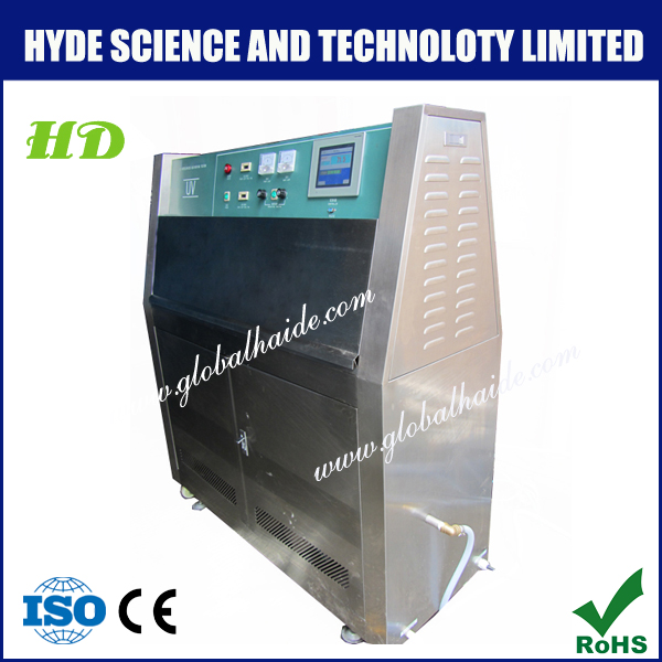 Color touch screen uv light test equipment