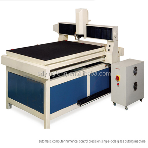 JFQG-1310 Fully automatic CNC small glass cutting machine for special shape glass