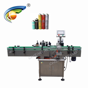 Fixed point auto self-adhesive labeler 30ml elqiuid plastic bottle labeling machine