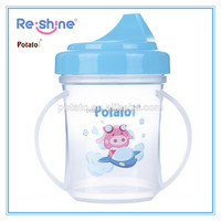 180ml (6oz) baby training cup/ sippy cup with handle