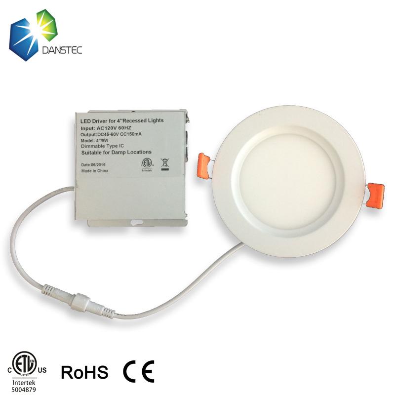 Shenzhen Factory 9w Led Pot Light 4 Inch Csa Etl Recessed
