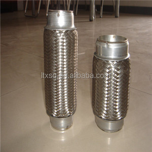 silence flexible pipe low price muffler stainless / high quality flexible pipe exhaust