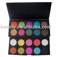 Makeup paleete :removeable palette in one case with 20 clors eyeshadow