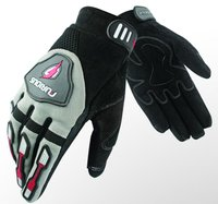 Sports Motorcycle Racing Leather Carbon Kevlar Gloves