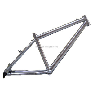 China OEM aluminum factory high quality aluminum tube profile for Silver mountain bike frame