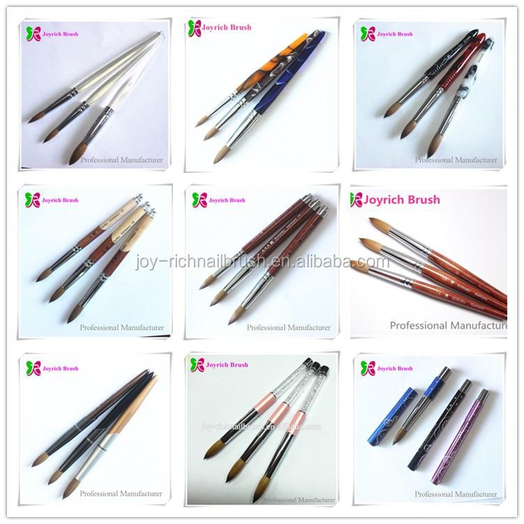 Pure Acrylic Kolinsky Nail Brush Wholesale Glitter Acrylic Nail ...