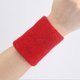 Custom Cotton Sports Basketball Sweatband/Wristband Wrist Sweat band