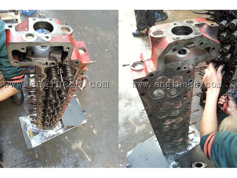 HINO J08E Engine cylinder head for SK350-8 Used J08E Engine Cylinder head