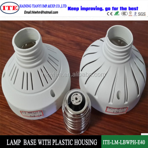 E40 led lamp plastic housing and parts