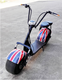 18 Inch Two Wheel 1000W Harlley Fat Tires Electric Scooter, Citycoco Electric Scooters