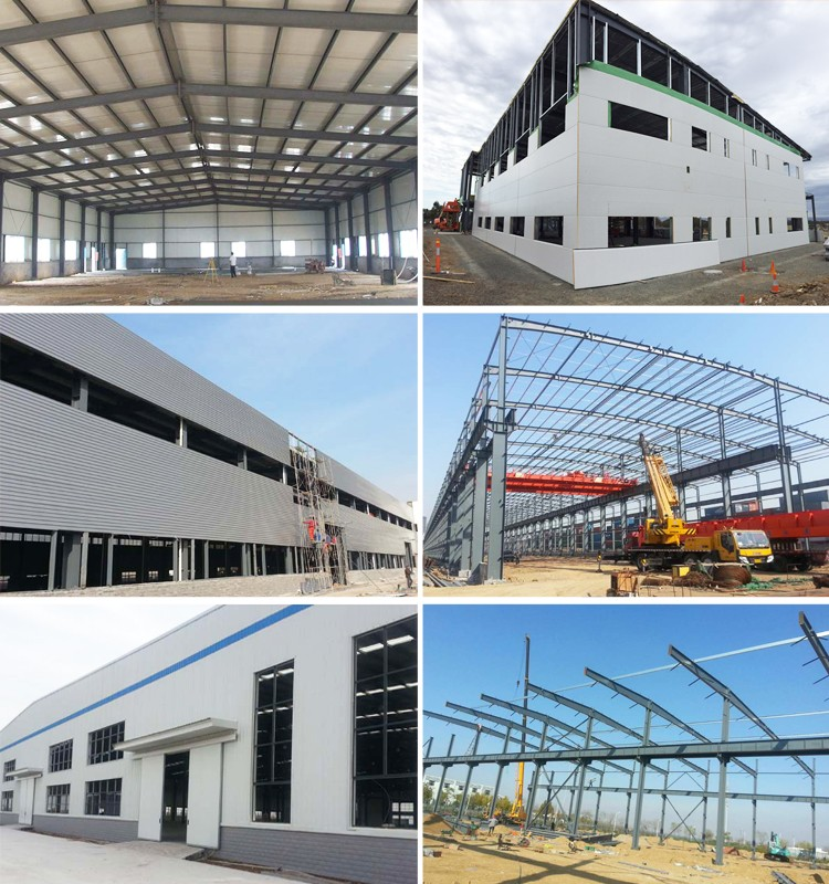 Low Cost Fabrication Industrial Shed Designs Steel Prefab Warehouse