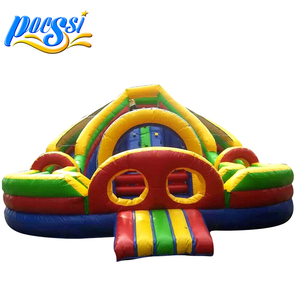 Multi-Function Double Slide Jumping Castle for Rental