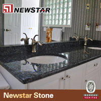 Blue Pearl Granite Stone Bathroom Granite Vanity Top