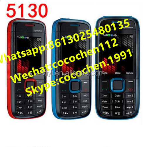 2017 Original promotional Mobile Phone 5130 Support QQ whatsapp music unlocked smarphone for 3310 8310 8210