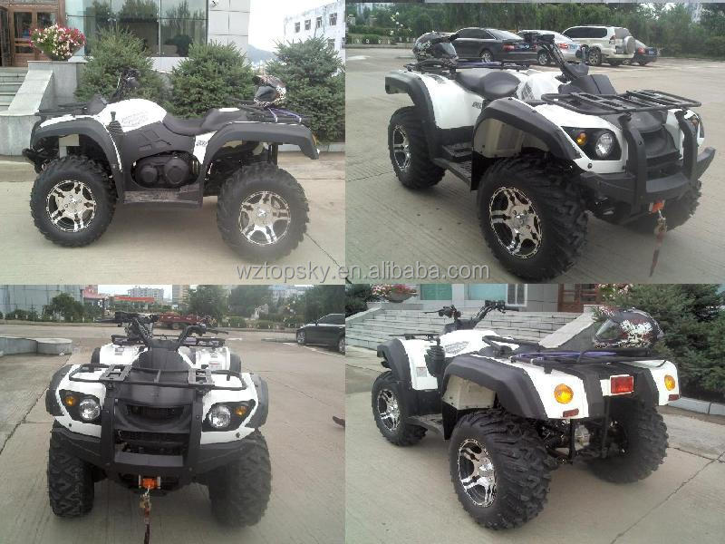 Diesel ATV with Fire Fighting Foam System