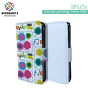 China Supplier SUPERNOVA Sublimation Blank Flip Case with Window for iPhone 5 5S