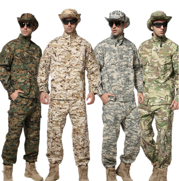 RTS CS18 BDU CP Camouflage suit sets Army Military uniform combat Airsoft uniforms