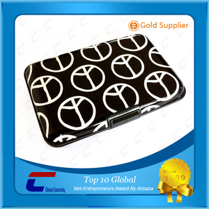 Cool men RFID blocking wallet for id chip card & cash money block keeper