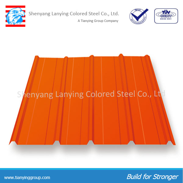 Cheap colored steel lightweight roofing materials