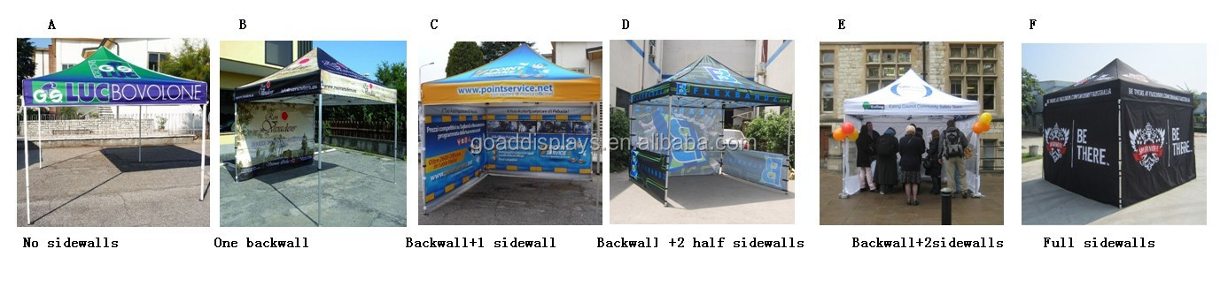 Christmas durable 6 person pop up tent 4x8 pop up tent custom pop up wedding tent