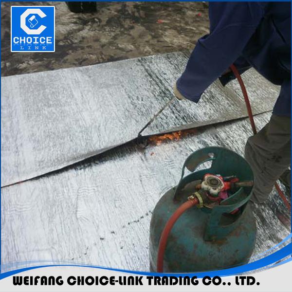 Concrete foundation waterproofing material bituminius