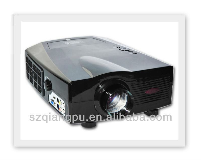 hd LCD LED PROJECTOR with 800*600 resolutions for home theater, CE, FCC certificate