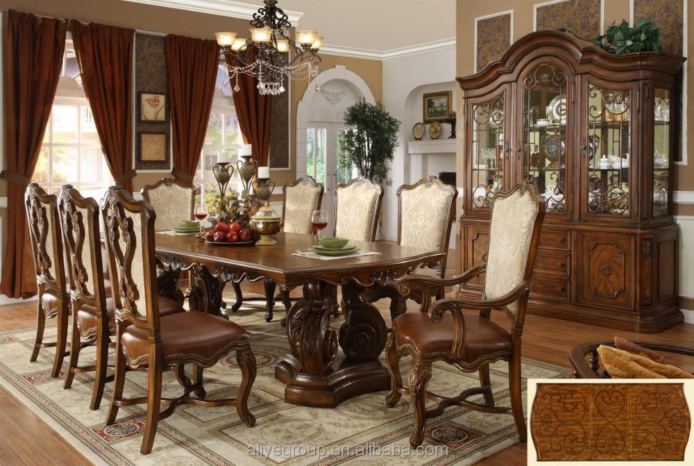 Venta al por mayor fotos de muebles de madera para comedor-Compre ...