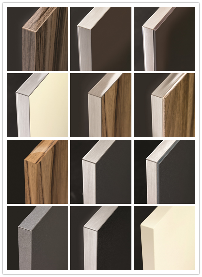 High Gloss Arcylic Mdf Board Glazed Kitchen Cabinet Doors