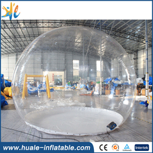 Hot sale!! 4m giant inflatable snow globe for advertising