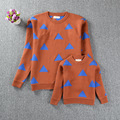 2016 Family Matching Clothing outfits Sweater Girls Boys For Mother Daughter Family Matching baby kids children