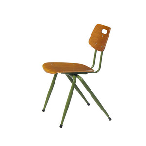 economic school furniture durable side chair wood seat and back kid school chair