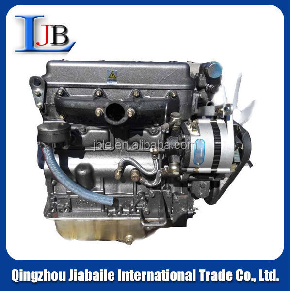 4-cylinder SHANDONG HUAYAN laidong ll480 DIESEL ENGINE ASSEMBLY for generator/forklift/tractor/loader/light truck