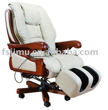 Office furniture luxury swivel reclining executive massage chair with legOffice Furniture Luxury Swivel Reclining Executive Massage Chair  . Office Chair Recline. Home Design Ideas