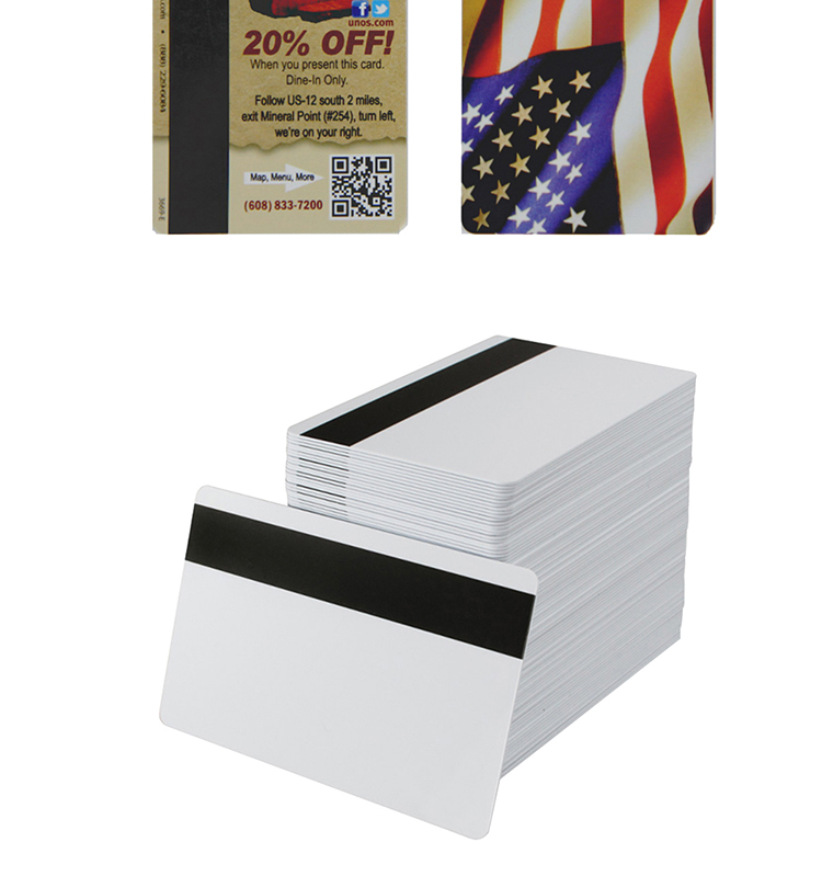 Dejian 13.56Mhz F1108 PVC Rewritable  RFID Blank Magnetic Stripe Smart Card
