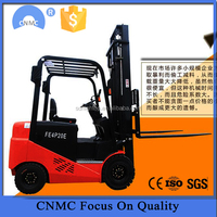 low price electric forklift truck/ widely used 3 ton forklift/ fork lifter for sale
